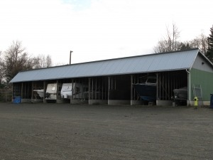 Covered storage in Campbell River, BC