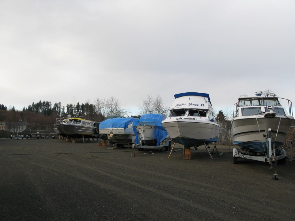 Boat Storage in Campbell River, BC
