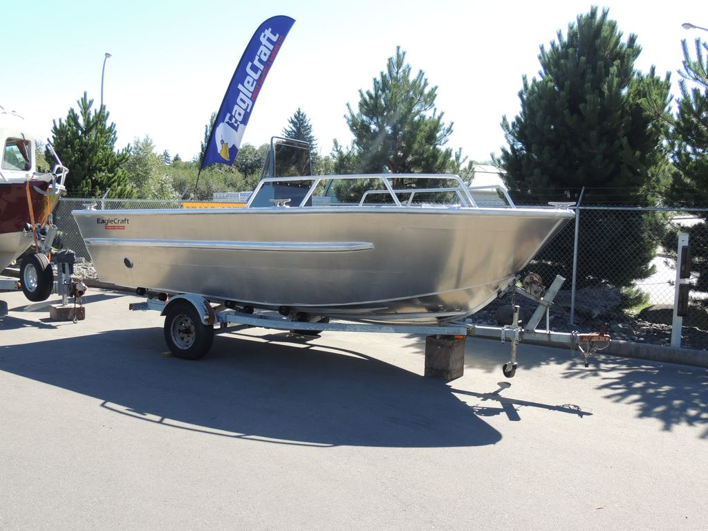 Daigle Marine Pre-Owned Boat Inventory EagleCraft Aluminum Boats, builders of commercial ...