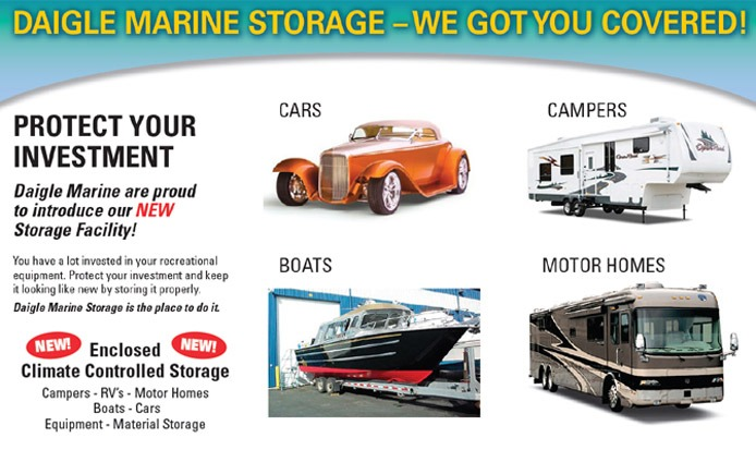 Enclosed and secured storage in Campbell River BC