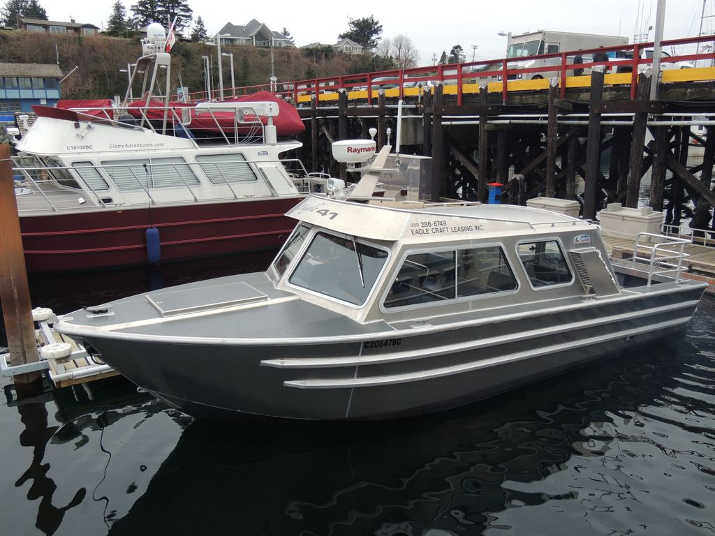 Aluminum Boats For Sale Bc >> eagle41seatrial 005 – EagleCraft Aluminum Boats, builders of commercial, pleasure and sport ...
