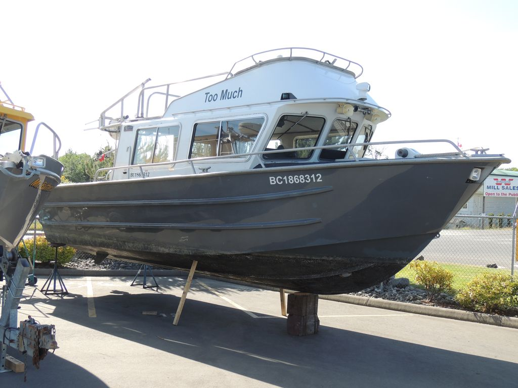 Aluminum Boats For Sale Bc >> Daigle Marine Pre-Owned Boat Inventory EagleCraft Aluminum Boats, builders of commercial ...